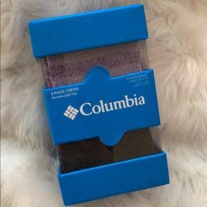 🎁 COLUMBIA Gift Set 2pack Women's Winter Socks